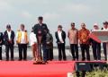 Presiden Jokowi resmikan tol Ngawi-Kertosono (seksi Wilangan-Kertosono).