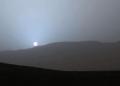 Sunset Mars.