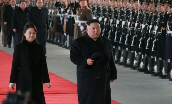 Kunjungan Kim Jong-un ke Cina terjadi di tengah laporan adanya negosiasi membahas rencana pertemuan puncak lanjutan antara Kim dan Presiden AS Donald Trump. (EPA)