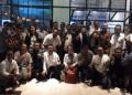 Relawan alumni Telkom University Jokowi-Ma'ruf Amin Komunitas (Telunjoe'k) mendeklarasikan dukungan terhadap pasangan Joko Widodo-Ma'ruf Amin.