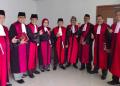 Hakim Pose 'Salam 2 Jari' (Dok. Istimewa)