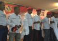 Relawan Gerakan Relawan Pandu Garuda (GRPG) saat deklarasi dukung Jokowi-Ma'ruf.