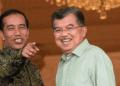 Jokowi dan Jusuf Kalla.