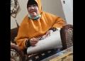 Rekaman video ibu-ibu yang berkampanye dan menyebut Jokowi - Maruf Amin mau hapuskan pelajaran agama di sekolah-sekolah. [Twitter]
