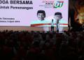 Yenny Wahid dan Yusuf Mansur doakan Jokowi-Ma'ruf menang.
