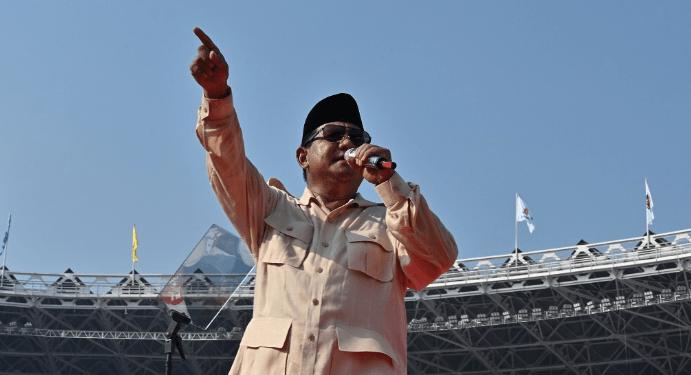 Prabowo Subianto. (Foto: AFP)