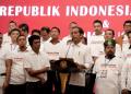 Presiden Jokowi saat hadiri acara halal bihalal Aktivis 98.