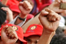 Menolak premanisme terhadap buruh