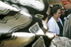 Megawati Soekarnoputri ditengah para pelawat