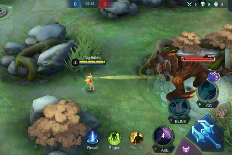 Konfigurasi grafik smooth pada game Mobile Legends