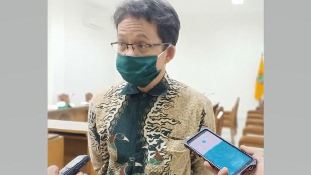 Ketua Komisi I DPRD Kalteng, Yohannes Freddy Ering.