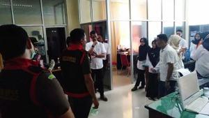 Penggeledahan RS Lanto Daeng Pasewang Jeneponto oleh Kejari Kabupaten Jeneponto