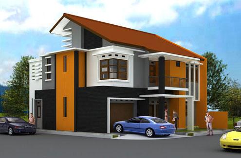 Contoh Desain Atap Rumah Minimalis Modern 1 Dan 2 Lantai Berita