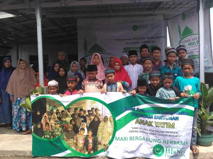 Santunan Yatim- BIsNet Foundation, Pesantren Daarul Ummah