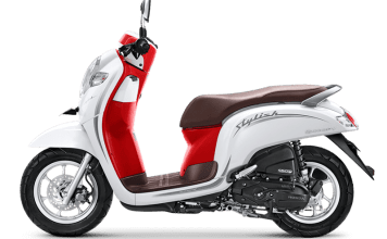 Honda Scoopy 2019 White Red