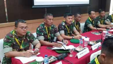 Photo of Kepala Penerangan Korem 142/Tatag hadiri Rakornispen TNI