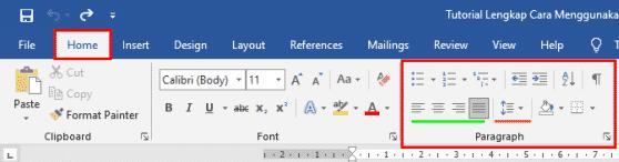 Mengatur Margin pada Lembar Kerja Microsoft Word