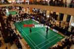 Atlet-atlet badminton P.B Jaya Raya Metland.