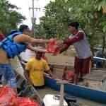 Helat Aksi Sosial, Japnas Berbakti Peduli Korban Banjir Salurkan Bantuan, Kamis, (25/2).
