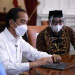 Presiden Joko Widodo Lapor Pajak Surat Pemberitahuan (SPT) Tahunan Pajak Penghasilan, Kamis, (3/3).