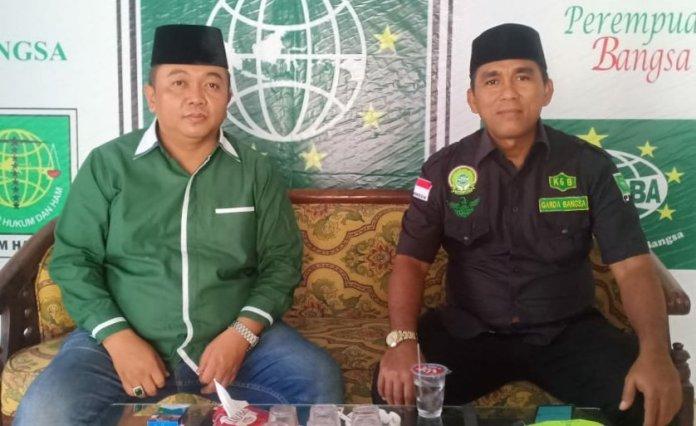 IST/BS - Ketua DPC PKB Kotim bersama Wakil Ketua 1, M Shohibul Hidayah dan Idamin.