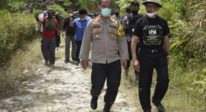 Kapolda Sulteng dampingi tim Asistensi Mabes Polri, BNPT dan LPSK kunjungi Lemban Tongoa