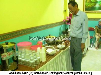 003 - Dari Jurnalis, Azis Banting Setir Jadi Pengusaha Catering