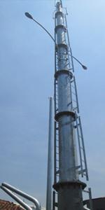 Menara Internet Di kelurahan Kedaung RT 02 RW 01 berdirinya jaringan internet dari perusahaan media ternama di Ibukota