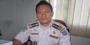 Dito C. Wirastyo Kepala Seksi (Kasi) Parkir dan Terminal Dinas Perhubungan Kota Tangerang Selatan  (Foto: Iskandar)