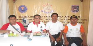 Krew Azno Team Kiri ke kanan, Muhidin, Abdul Haris, Iskandar, Aban Naksabandi