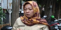 Melia Safitri (Sekretaris Kelurahan Larangan Utara)