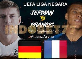 Prediksi Pertandingan Liga Nations UEFA Jerman vs Perancis