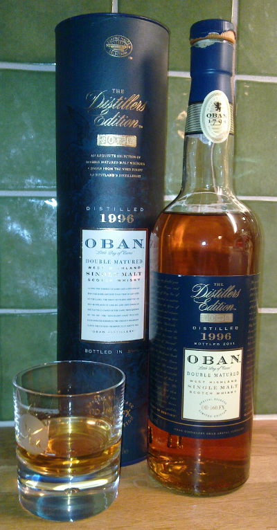 Oban - Distillers Edition 1996