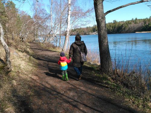 vår-promenad