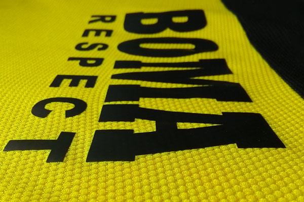 sablon kaos polyflex untuk jersey