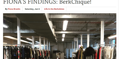 The Berkshire Edge | Fiona's Findings: BerkChique!