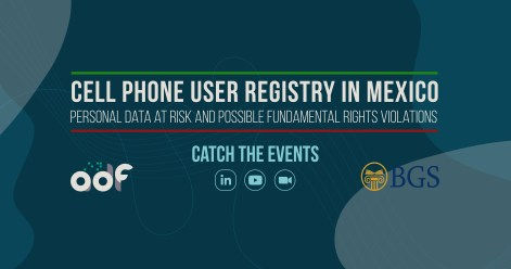Cell Phone User Registry in Mexico