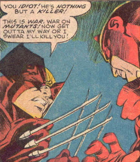 Daredevil meets Wolverine.