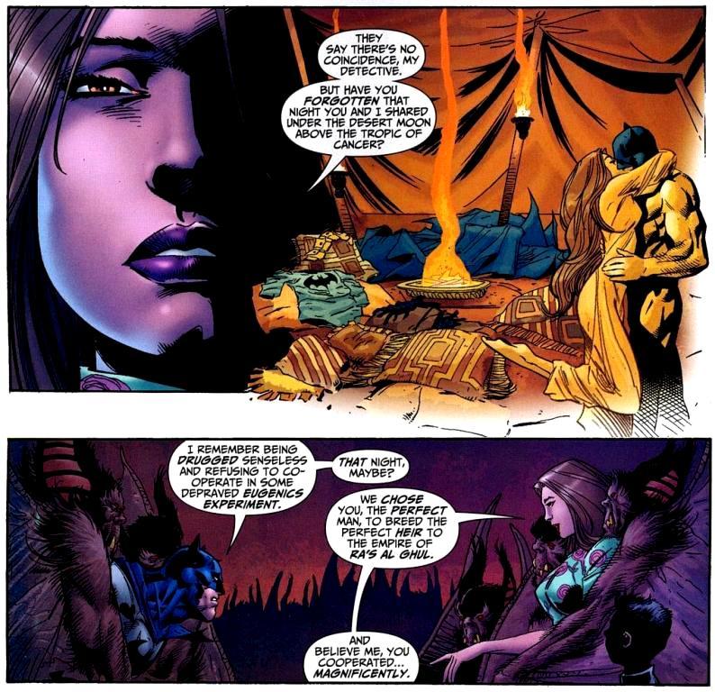 batman raped by talia