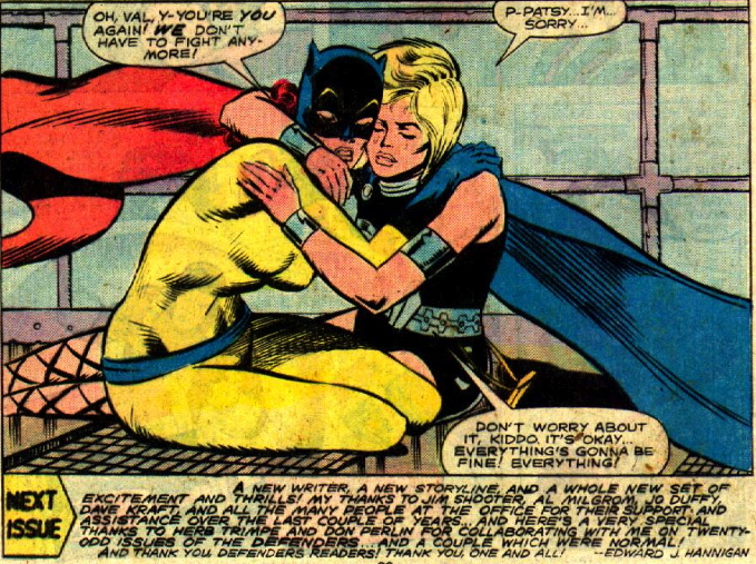 girl superheroes hug spandex love lesbians