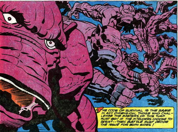 jack kirby monster