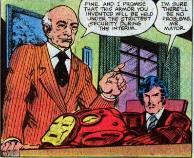 mayor koch meets iron man