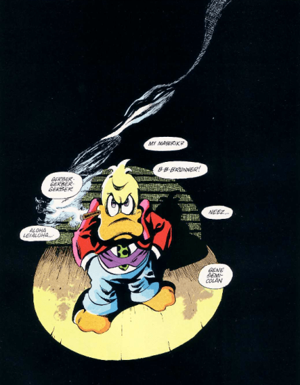 dave sim howard the duck