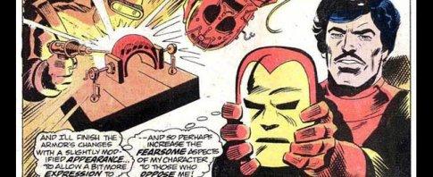 iron man's nose