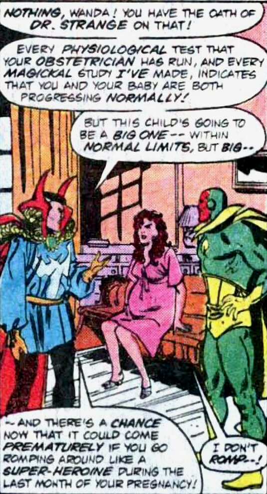 Vision and the Scarlet Witch #11 (1986) - Berkeley Place