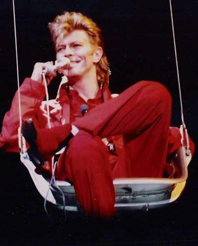 David Bowie at the Rock am Ring festival