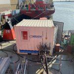 hydraulisch leidingwerk spoelen