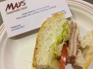 Sandwich - Mays