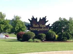Road Trip: Shady Maple Smorgasbord