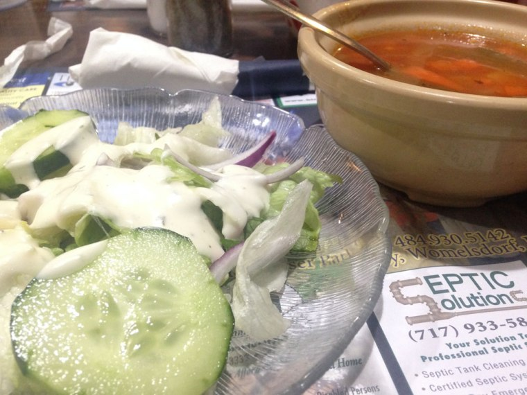 blue-star-family-restaurant-beef-vegetable-soup-salad